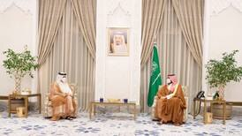 Saudi Arabia's Crown Prince meets Qatar Foreign Minister in Neom
