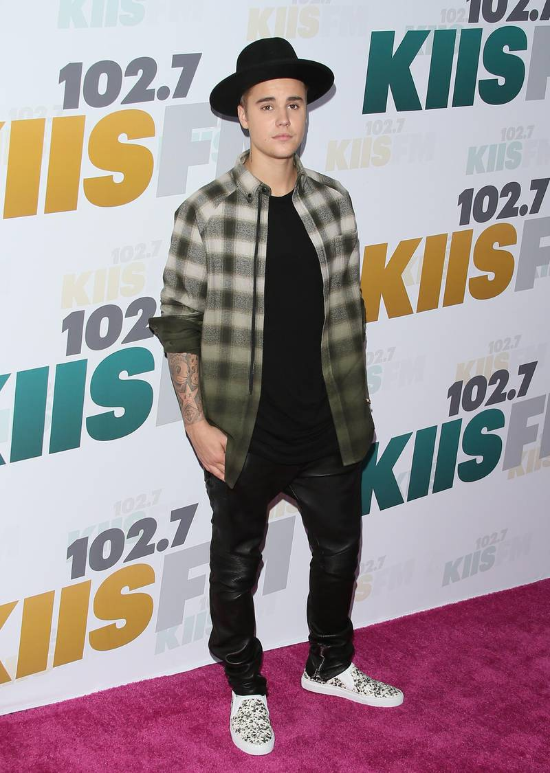 LOS ANGELES, CA - MAY 09: Justin Bieber attends 102.7 KIIS FM's Wango Tango 2015 at StubHub Center on May 9, 2015 in Los Angeles, California.  (Photo by JB Lacroix/WireImage/Getty Images) *** Local Caption ***  al09au-music-beiber.jpg