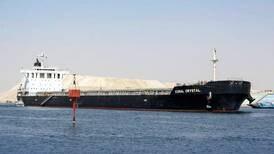 Suez Canal blocked briefly as cargo ship runs aground
