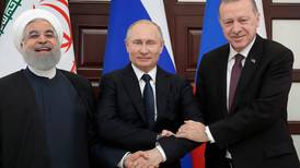 In Sochi, Russia rallies support for assault on Syria's last opposition stronghold