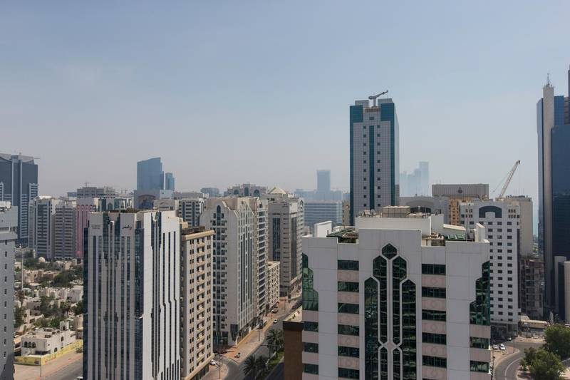 Abu Dhabi, United Arab Emirates, June 29, 2017:    General view of the Al Hosn area of Abu Dhabi on June 29, 2017. Christopher Pike / The National  Job ID:  Reporter:  Section: Big Picture Keywords: skyline, downtown *** Local Caption ***  CP0629-big picture-03.JPG