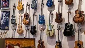 Art of Guitar: a museum, art gallery and guitar store in Dubai's Al Quoz