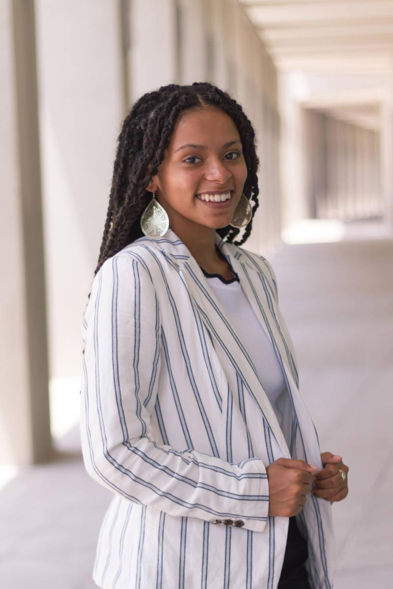 Tatyana Brown is the second NYU Abu Dhabi recipient of the Truman Scholarship in six years. Courtesy NYU Abu Dhabi