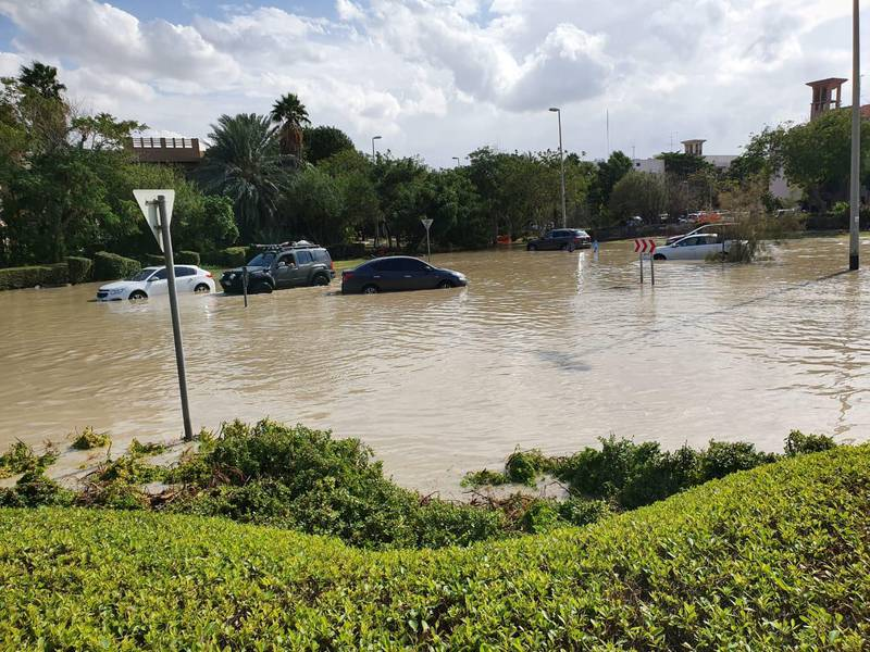 Flooded community photos can go in additional stories on rain - airports shut, flights delayed