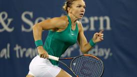 World No 1 Simona Halep under pressure as rain halts play in Cincinnati