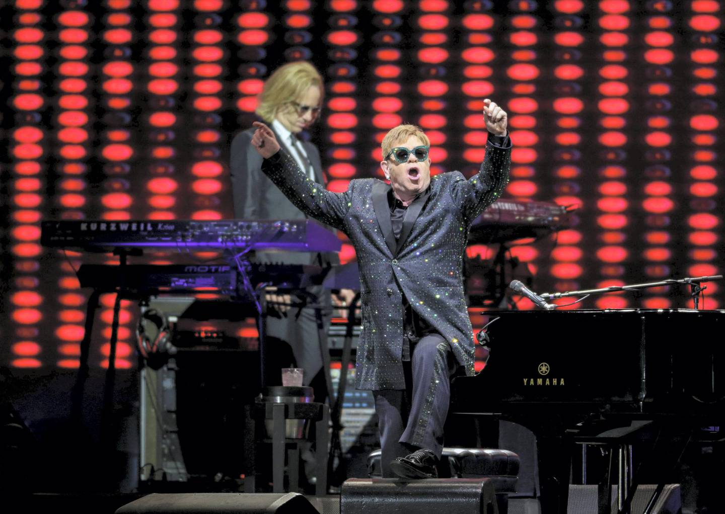 December 8, 2017.  Elton John live at Autism rocks arena.Victor Besa for The NationalACRequested By: James O'Hara