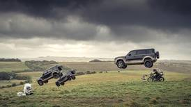 Watch phenomenal jumps from Land Rover Defenders in 'No Time To Die'