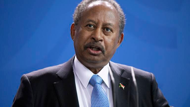 An image that illustrates this article Who is Sudan's Prime Minister Abdalla Hamdok?