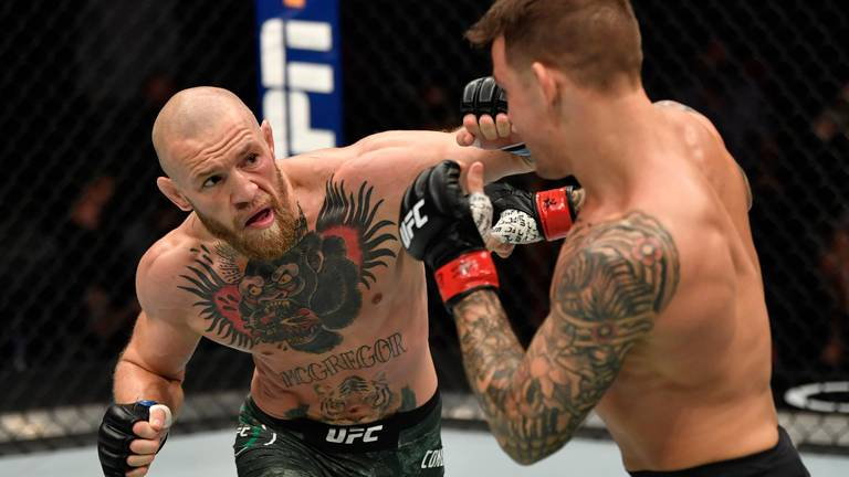 An image that illustrates this article McGregor holds top five PPV records after revealing figures from UFC 257