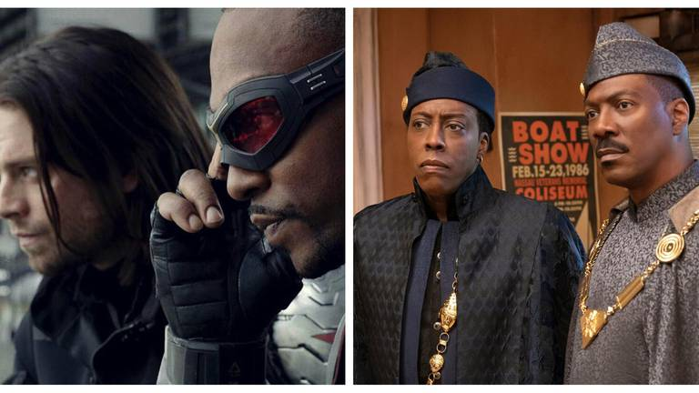 An image that illustrates this article What to stream in March: From 'Coming to America 2' to 'The Falcon and the Winter Soldier'