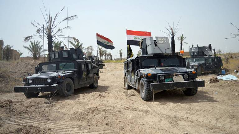 An image that illustrates this article Iraq seizes explosives hidden in car by ISIS