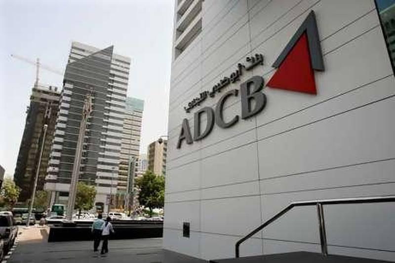 ABU DHABI.19th April.2008. Abu Dhabi Commercial Bank(ADCB) HQ, Abu Dhabi. Stephen Lock  /  The National. FOR ARCHIVE