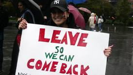 'Leave so we can come back', Lebanese diaspora joins the protest