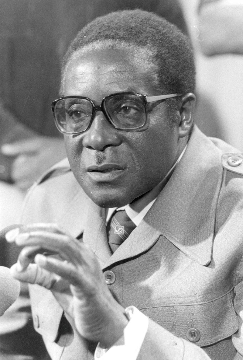 7th September 1979:  Guerilla leader Robert Mugabe in London for the British convened Zimbabwe/Rhodesia Constitutional talks.  (Photo by Mike Stephens/Central Press/Getty Images)