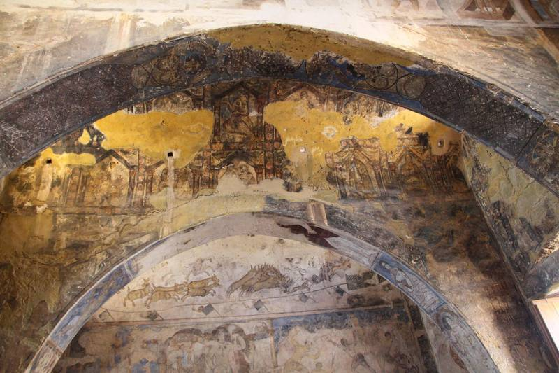 The painted archways of Quseir Amra.Amy McConaghy / The National