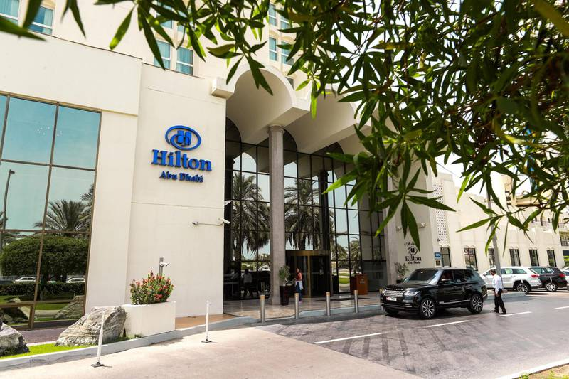Abu Dhabi, UAE.  May 16, 2018.  Hilton Hotel Veteran Employees.Victor Besa / The NationalSection:  NationalReporter:  John Dennehy