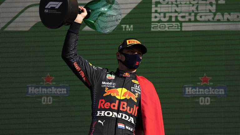 An image that illustrates this article Verstappen regains title lead after winning Dutch GP