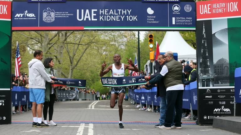 An image that illustrates this article Zayed Charity Marathon in New York to coincide with the UAE's jubilee celebrations