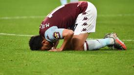 'Courageous' Aston Villa beat Arsenal to escape relegation zone with one game to go - in pictures