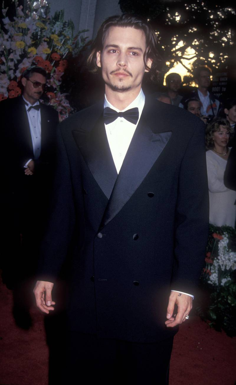 Johnny Depp during 66th Annual Academy Awards at Dorothy Chandler Pavillion in Los Angeles, CA, United States. (Photo by Barry King/WireImage)