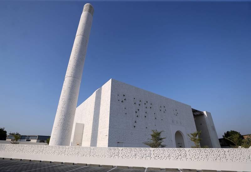 Мечеть ОАЭ, спроектированная женщиной