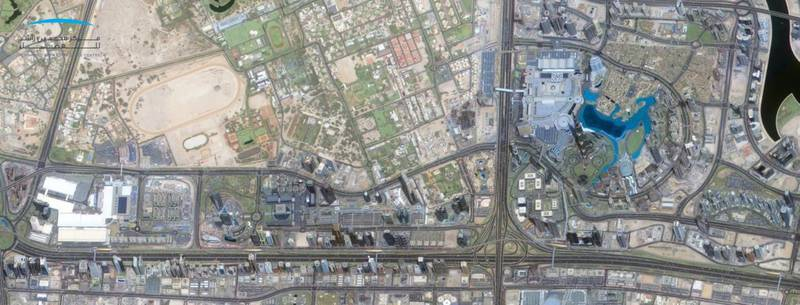 Dubai Expo 2020. Courtesy Mohammed bin Rashid Space Centre