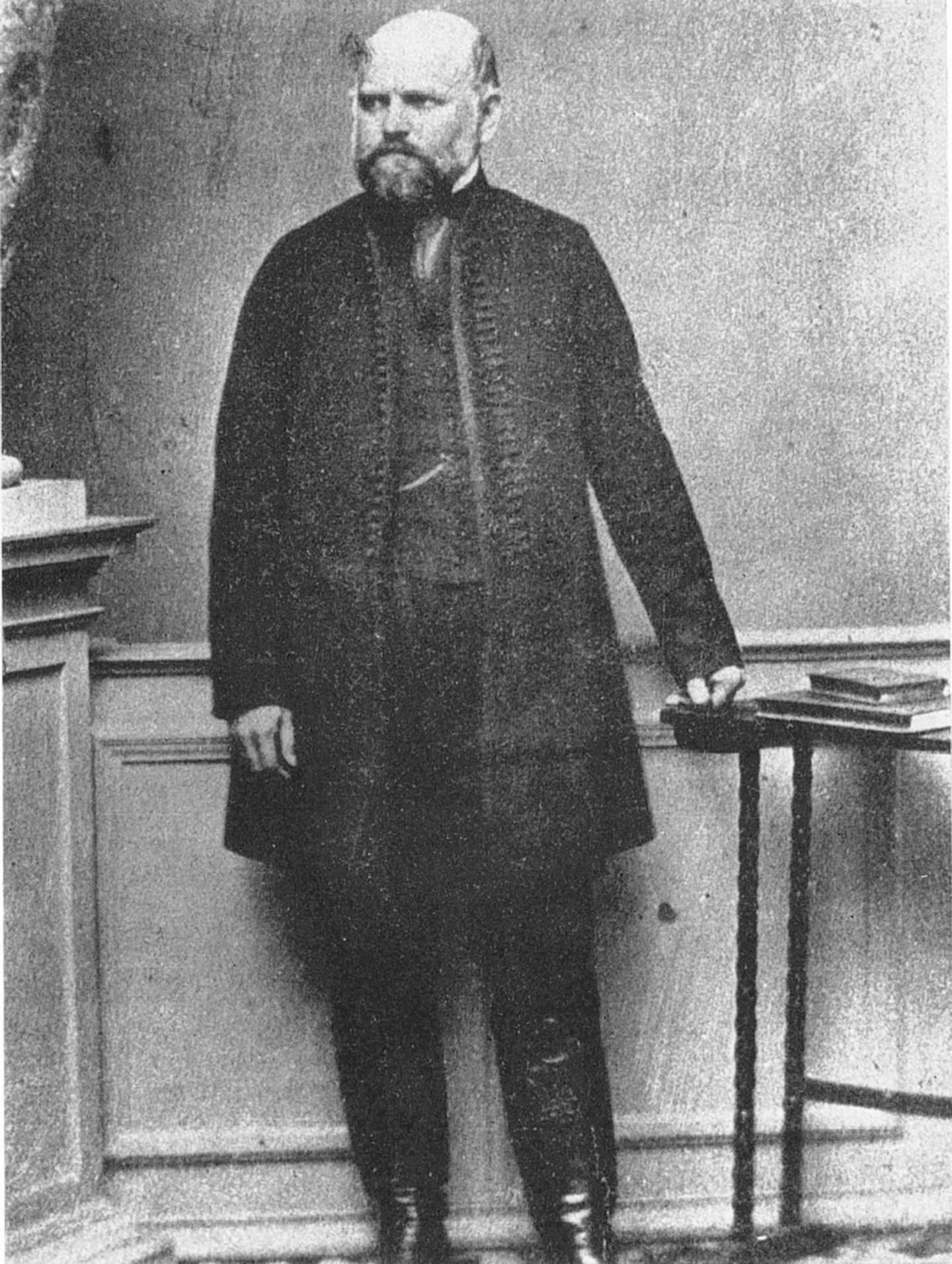 HKF7Y7 Ignaz Semmelweis 1863 last image
