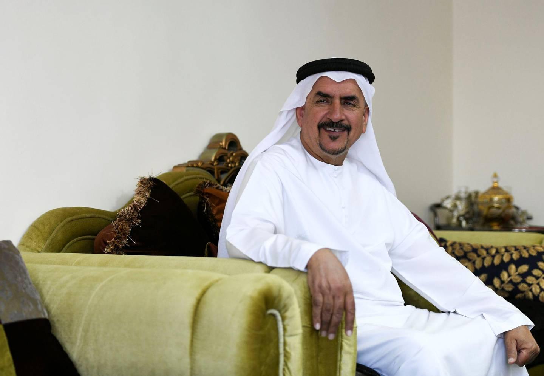 Abu Dhabi, United Arab Emirates - Dr. Rashed Al Mazrouei who lived through the union, at his home in Abu Dhabi. Khushnum Bhandari for The National