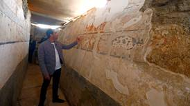 Egypt unveils 4,400-year-old tomb discovered near Giza pyramids