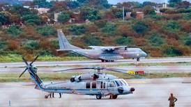 Helicopter carrying Colombia's president struck by gunfire near Venezuelan border