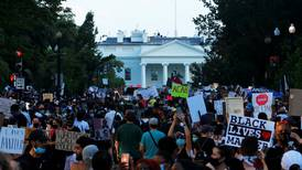 Protesters pour into US capital decrying racism