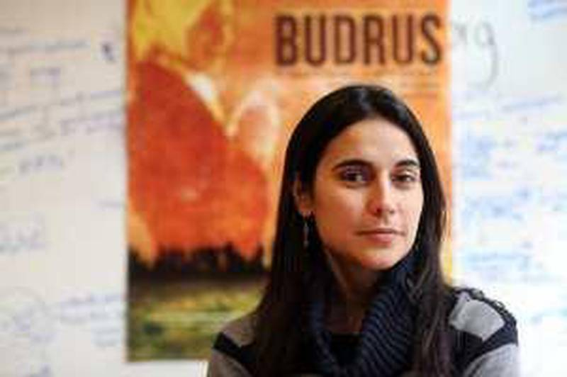 """Filmmaker, Julia Bacha, just rteleased her new documentary, """"Budrus"""" about the ongoing conflict between Israel and Palestine and the community of Budrus and non-violent protest. Photo by Michael Falco"""