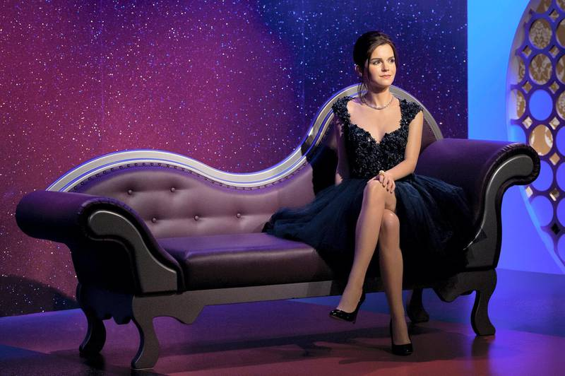 LONDON, ENGLAND - MARCH 26:  A wax figure of actress Emma Watson is unveiled at Madame Tussauds on March 26, 2013 in London, England.  (Photo by Ben A. Pruchnie/Getty Images)