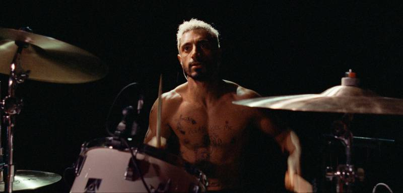 """This image released by Amazon Studios shows Riz Ahmed in a scene from """"Sound of Metal."""" Ahmed won a Gotham Award for best actor for his role in the film. (Amazon Studios via AP)"""