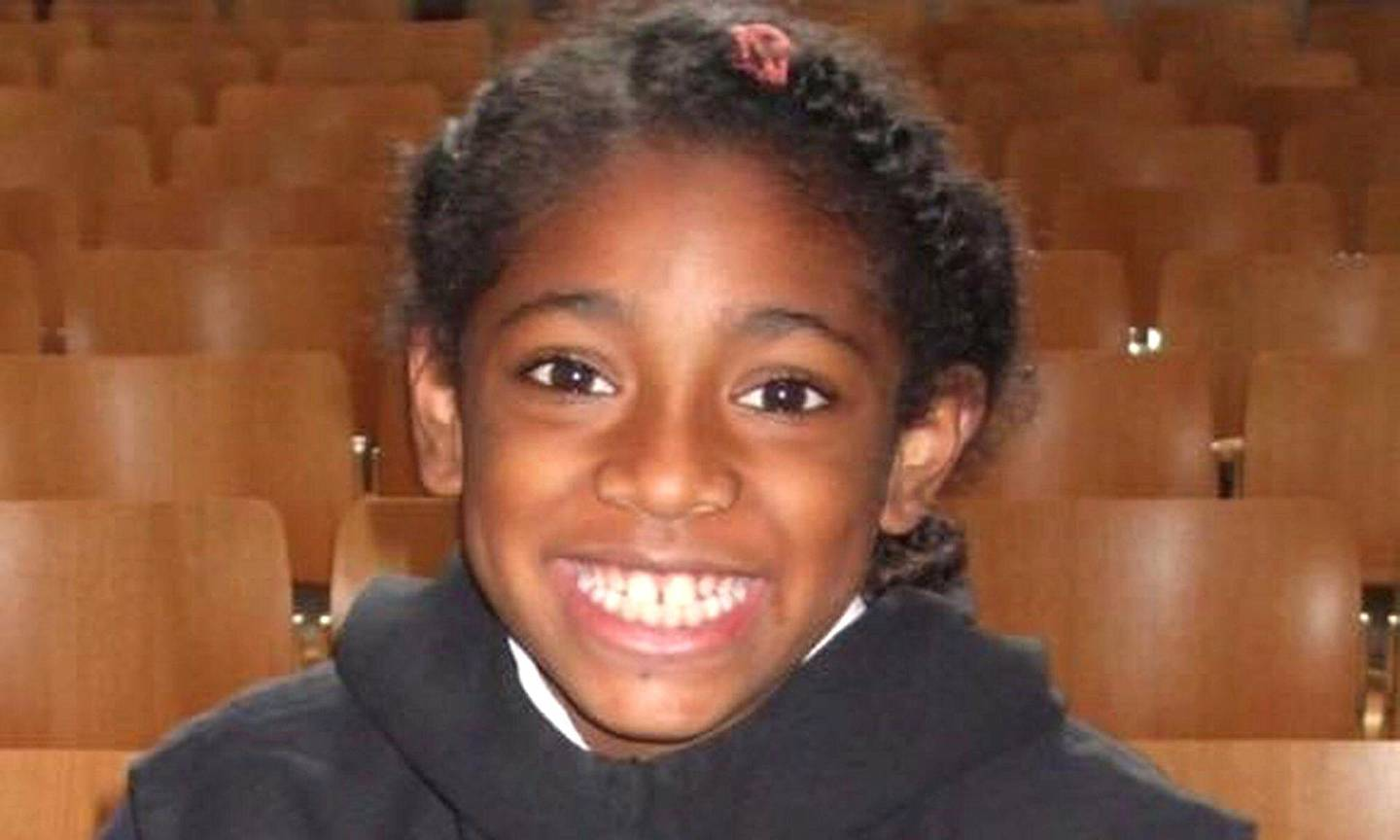 2DKPHMM Undated family handout file photo of Ella Kissi-Debrah. A coroner is due to make a ruling in the inquest of the nine-year-old girl which could see air pollution listed as a cause of death for the first time in the UK.