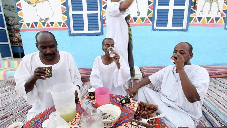 An image that illustrates this article Mesay Mubarak: Ramadan is unique in one of the remaining Nubian villages
