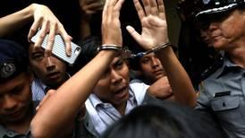 Hard labour: Myanmar judge sentences journalists who reported on Rohingya killings
