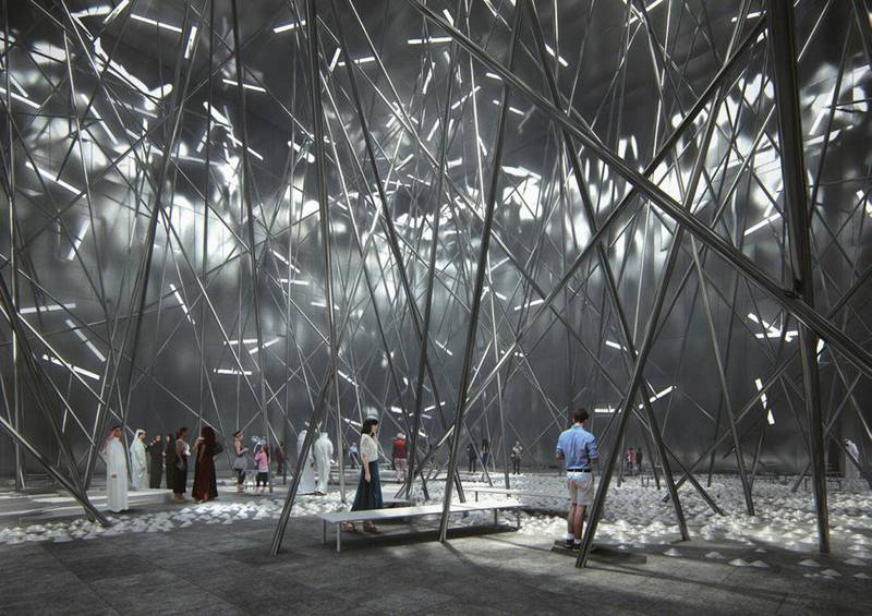 Bahrain Pavilion at Expo 2020 Dubai. Courtesy: Bahrain Expo 2020 Dubai