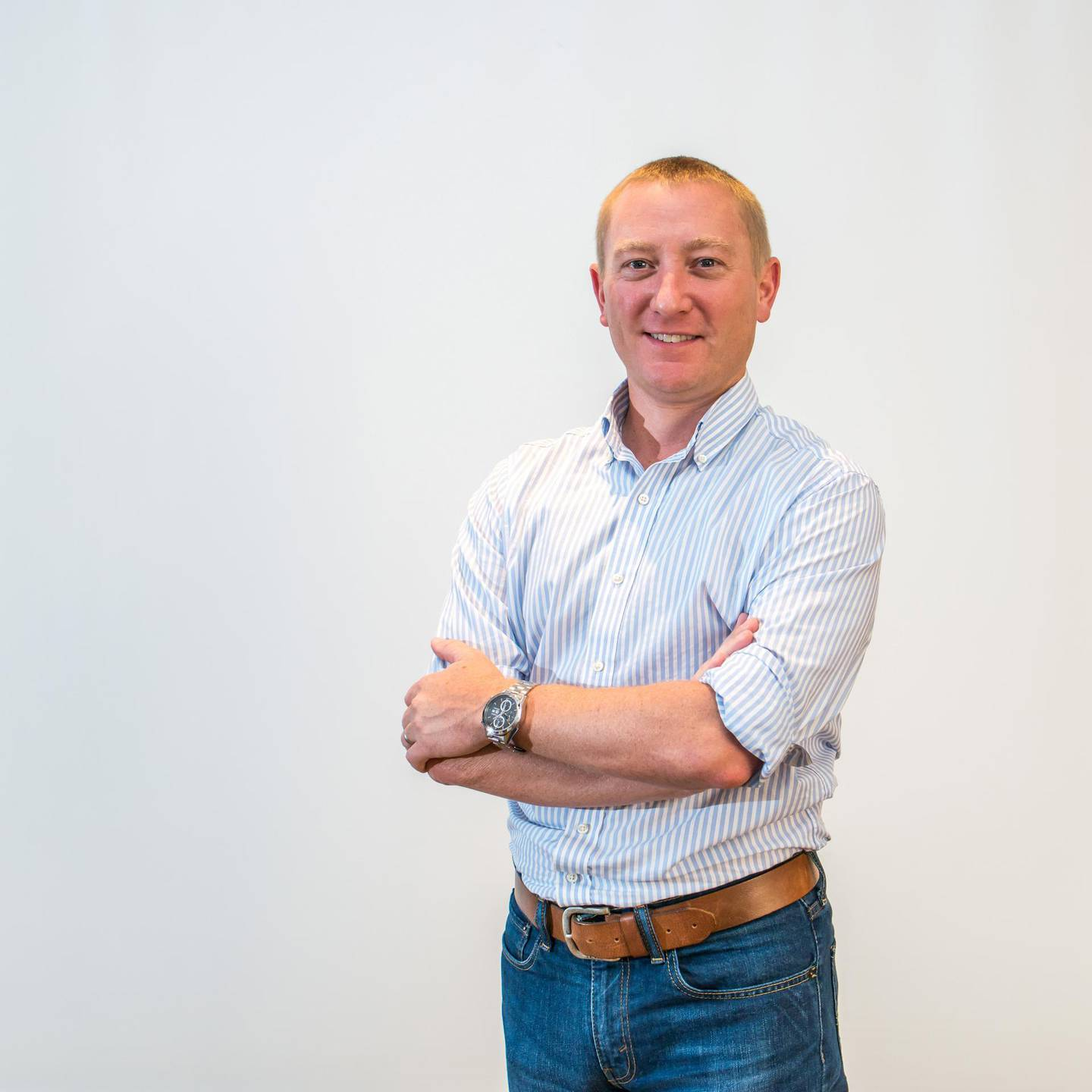 David Bell, a Gen Xer, started his investing journey in late 2013 after meeting a financial adviser in the UAE. Courtesy David Bell
