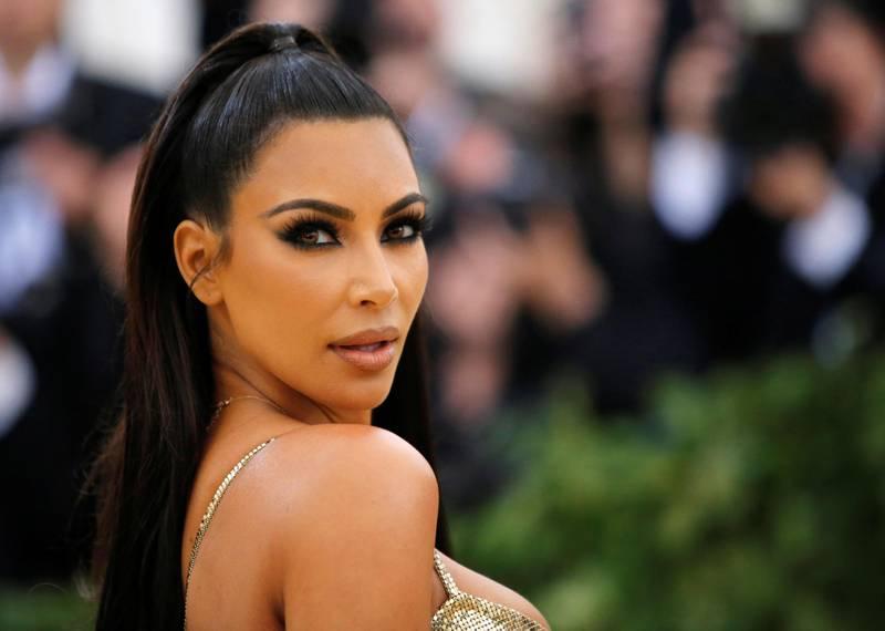 FILE PHOTO: Kim Kardashian arrives at the Metropolitan Museum of Art Costume Institute Gala in New York, U.S., May 7, 2018. REUTERS/Eduardo Munoz/File Photo