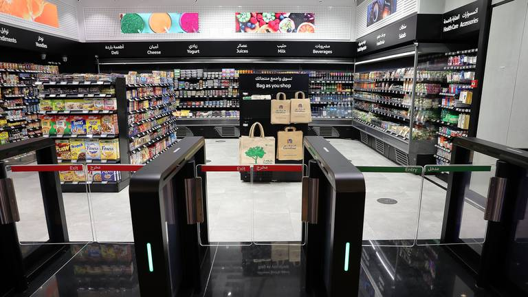 An image that illustrates this article Future of shopping? Cashier-less store launches in Dubai's Mall of the Emirates