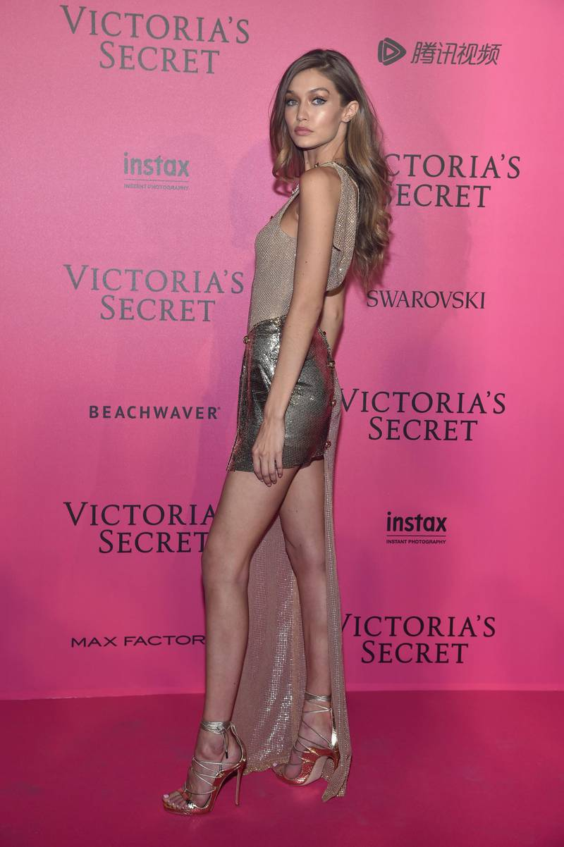 PARIS, FRANCE - NOVEMBER 30: Gigi Hadid attends the 2016 Victoria's Secret Fashion Show after party on November 30, 2016 in Paris, France.  (Photo by Pascal Le Segretain/Getty Images for Victoria's Secret)