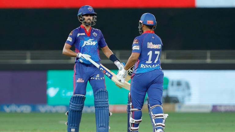An image that illustrates this article IPL 2021: Shreyas Iyer bounces back as Delhi trounce troubled Hyderabad