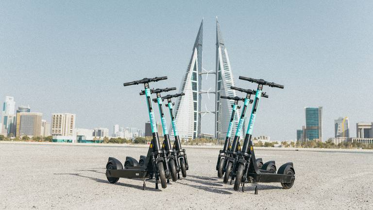 An image that illustrates this article SoftBank-backed e-scooter operator Tier to launch in Bahrain