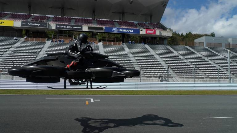 An image that illustrates this article $700,000 hoverbikes are here: Japanese start-up wants wealthy to swap supercars
