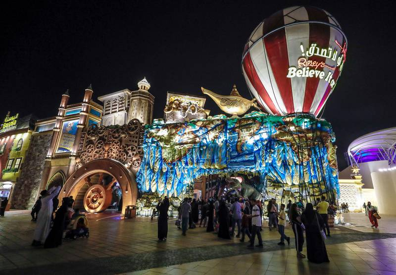 Abu Dhabi, United Arab Emirates, January 5, 2020.  Photo essay of Global Village.---   Ripley's Believe it or Not.Victor Besa / The NationalSection:  WKReporter:  Katy Gillett