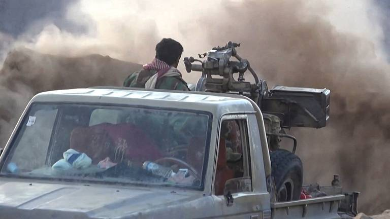 An image that illustrates this article Over 180 Houthi rebels killed outside Yemen's Marib