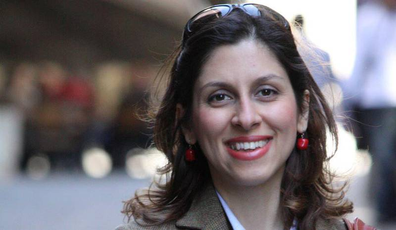 Iranian-British aid worker Nazanin Zaghari-Ratcliffe is seen in an undated photograph handed out by her family. Ratcliffe Family Handout via REUTERS  FOR EDITORIAL USE ONLY. NO RESALES. NO ARCHIVES  THIS IMAGE HAS BEEN SUPPLIED BY A THIRD PARTY. IT IS DISTRIBUTED, EXACTLY AS RECEIVED BY REUTERS, AS A SERVICE TO CLIENTS