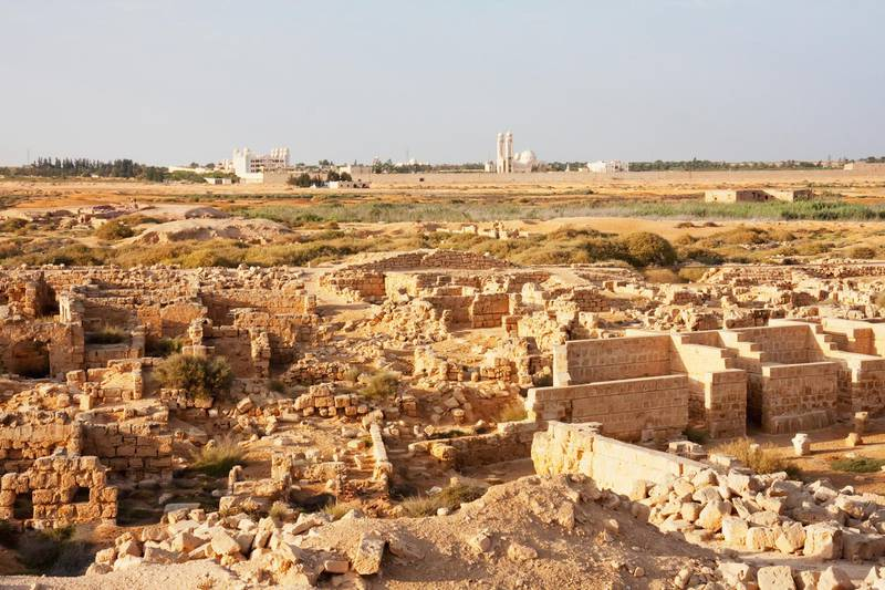 Remains Of The Hospices, Abu Mena, Egypt (Photo by: Insights/UIG via Getty Images)