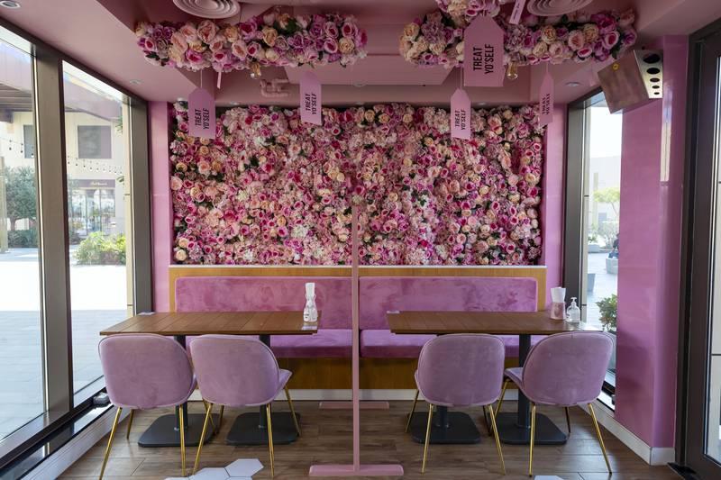 Dubai, United Arab Emirates - Reporter: Sophie Prideaux. Lifestyle. Food. Restaurant feature. Eat your way around The Pointe, The Palm. Milky Jar. Monday, January 18th, 2021. Dubai. Chris Whiteoak / The National
